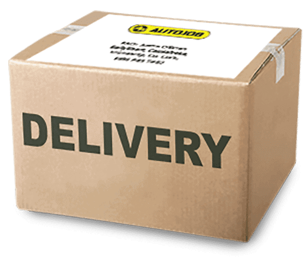 Image of delivery package with cleaned DPF from Autojob