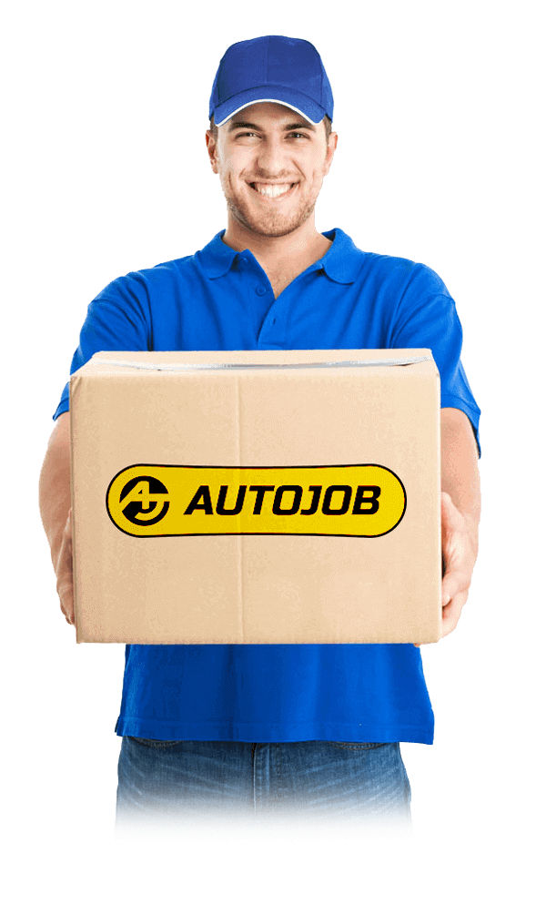 Man delivering cleaned DPF from Autojob